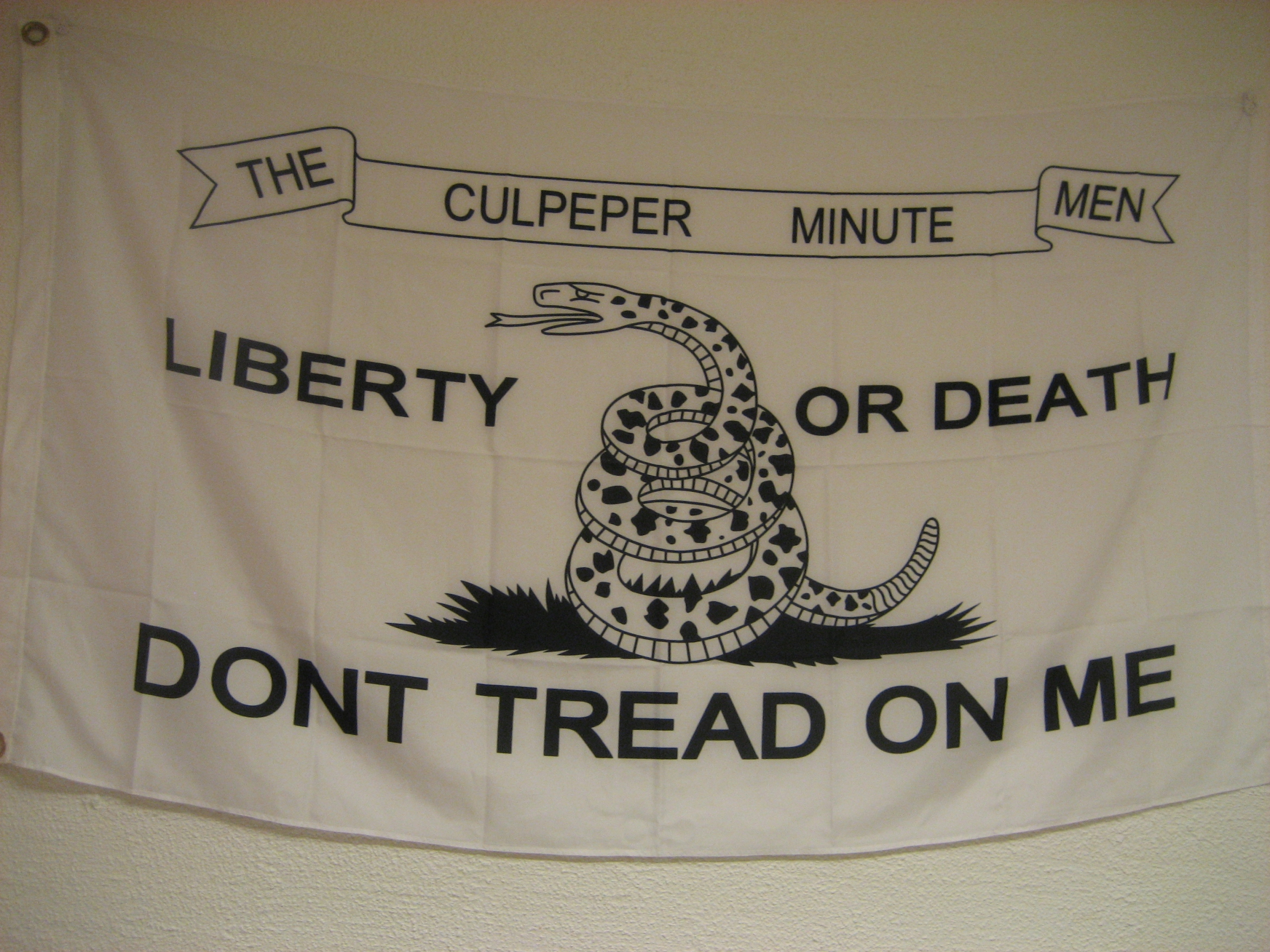 Don't tread on me.