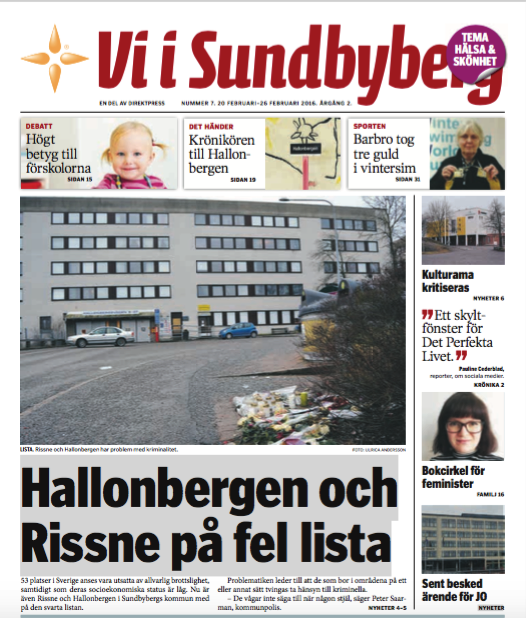 Vi i Sundbyberg trygghet Rissne Hallonbergen 20160219