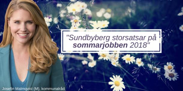 2018-03-16 _Sundbyberg storsatsar på sommarjobben 2018_